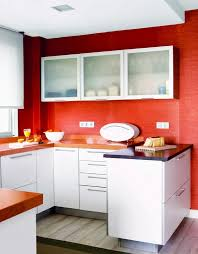 Red Kitchen With White Cabinets Lovely Red Kitchen Walls With White Cabinets 60 Upon Home Decor