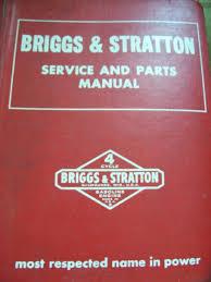 briggs and stratton manuals