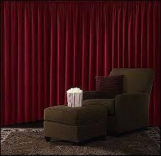 Blackout Curtains For Media Room Velvet Blackout Curtain Home Theater Curtains Room Ideas