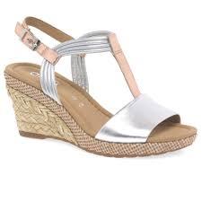 women u0027s silver sandals gabor shoes