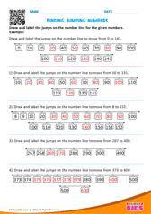 math ordering numbers worksheets kindergarten