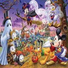Halloween Backdrop Disney Halloween Backdrop