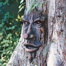 tree face tree statue design toscano the spirit of nottingham greenman tree