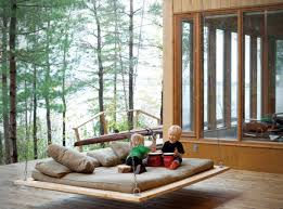 outdoor floating bed 29 hanging bed design ideas to swing in the good times