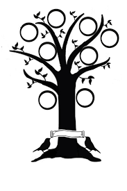drawing a family tree template tree silhouette clip art daily