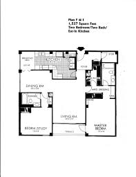 Eat In Kitchen Floor Plans by The Building