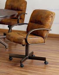 dining chairs rolling chairs dining room chair caster dining