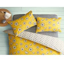Yellow Patterned Duvet Cover Floral Duvet Covers John Lewis