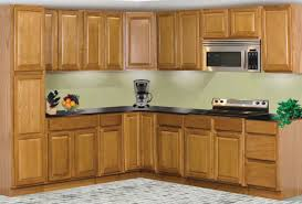 Kitchen Cabinets For Microwave Cabinet Captivating Oak Kitchen Cabinets Design Oak Kitchen
