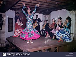 On Table by Spanish Flamenco Dancer On Table Spain Europe Stock Photo Royalty