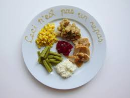 what thanksgiving dinner would look like prepared by