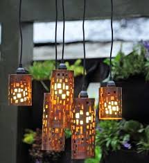 Outdoor Hanging Lights For Trees Outdoor Hanging Lights In Trees Coolest Pendant Candle