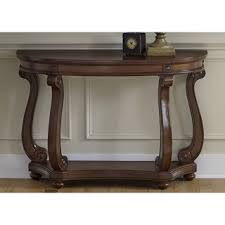 Overstock Sofa Tables Liberty Victorian Dark Classic Cherry Oval Sofa Table Overstock