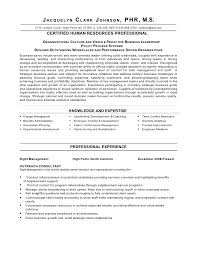 human resource resume exles sle resume for human resources manager fungram co