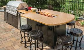 Kitchen Island Pics Outdoor Kitchens Kitchen Islands Gensun Casual Living