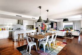 choosing paint colors for open floor plan contemporary family home colorful u0026 elegant perth australia