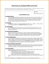 lab report template middle school report lab report exle