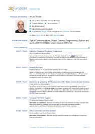 resume format for electronics engineering student european format resume resume for your job application academic resume samples european format pdf vosvete model sample resume filetype pdf cipanewsletter academic european