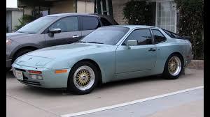 porsche 944 blue porsche 944 turbo