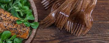 where can i get an edible image made edible plates made from wheat bran to replace disposable tablewear