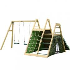Backyard Play Equipment Australia Climbing Pyramid Wooden Play Centre Play Centres Plum Play