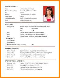 What Is A Resume For Jobs by Resume For Job Application Format Resume For Job Application
