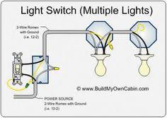 How To Wire A Light Fixture Diagram Wiring Diagram For Lights On One Switch Power Coming In