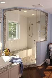 custom walk in showers 4 design options for walk in showers