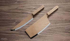 made kitchen knives kitchen knives made from maple wood twistedsifter
