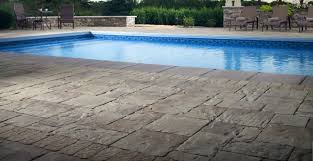 pool deck repair resurfacing texas concrete stamp acrylic lace
