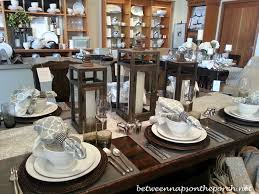 Dining Room Table Setting Dishes Table Setting Ideas For Fall Pottery Barn Table