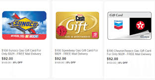 gas gift card ebay gift card sale 100 gas cards for 92 more doctor of credit