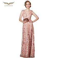 maternity dresses for weddings coniefox 30856 vestidos de noche plus size sequined sleeveless