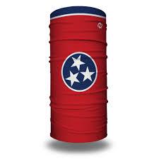 Tennesse Flag Tennessee State Flag Bandana Flag Face Masks Hoo Rag