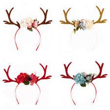 christmas deer reindeer antlers headband christmas and easter party headbands diy