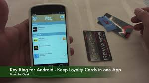 key ring for android keep loyalty cards in one app