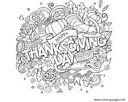free printable thanksgiving day coloring sheets happy activities on