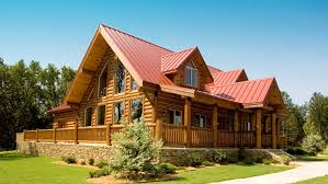 Two Story Log Homes by California Log Homes Are For The Family Gathering Our Pre Built