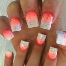 50 lovely pink and white nail art designs silver shorts short