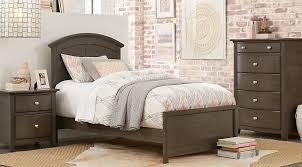santa cruz gray 5 pc full panel bedroom teen bedroom sets colors