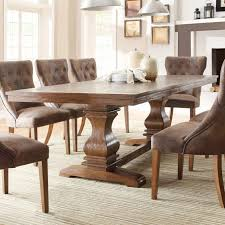 Chunky Rustic Dining Table Chunky Wood Dining Tables Rustic Farmhouse Dining Room Tables