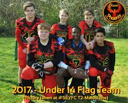 Red Flag Football Youth Sport Kent Phoenix Youth American Football Club