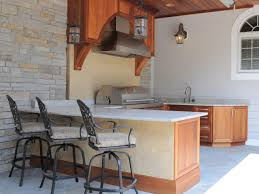 Kitchen Island Stainless Steel Great Covered Outdoor Kitchen Island Features Curved Shape Kitchen