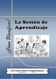 proceso de elaboración del plan de sesión de aprendizaje