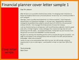 7 financial advisor cover letter precis format