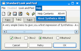 themes of java synthetica java look and feel