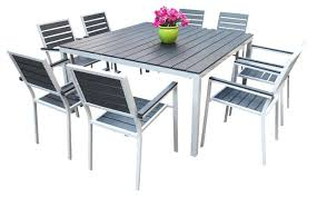 Modern Patio Dining Sets Modern Patio Dining Set Outdoor Dining Table Sets 9 Set