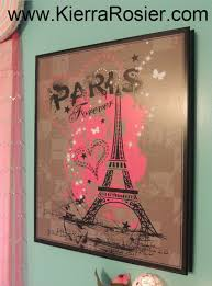 Eiffel Tower Decoration Ideas Kierra Rosier Paris Room Makeover Eiffel Tower Themed Bedroom