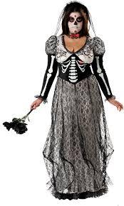 Dead Bride Costume Cheap Day Of The Dead Bride Plus Costume At Go4costumes Com