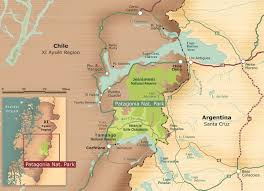 Bariloche Argentina Map Parque Patagonia Getting To The Park